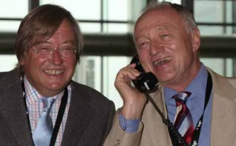 Ken Livingstone and David Mellor