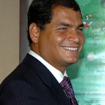 Rafael Correa wins re-election