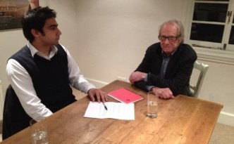 Salman Shaheen and Ken Loach