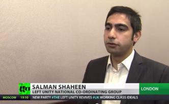 Salman Shaheen RT Left Unity